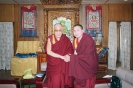 Ven Otgonbaatar with HH the Dalai Lama